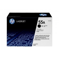 HP CE255A laser toner & cartridge