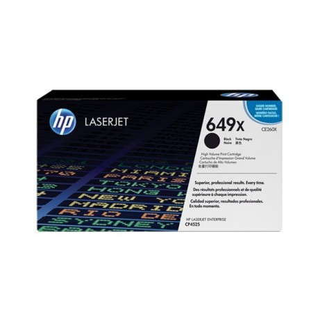 HP CE260X laser toner & cartridge