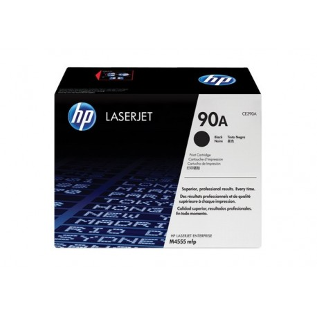 HP CE390A laser toner & cartridge