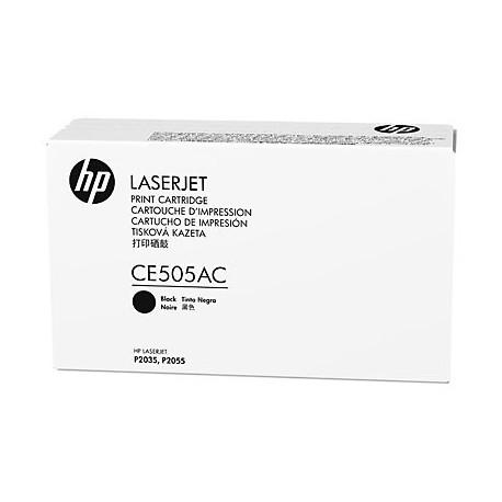 HP CE505AC laser toner & cartridge