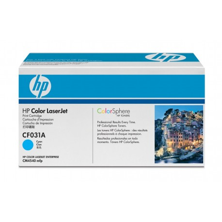 HP CF031A laser toner & cartridge