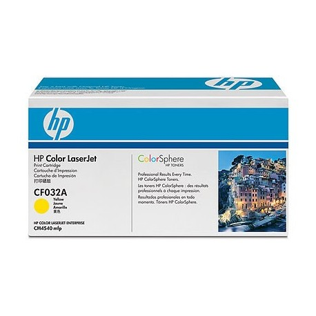 HP Color LaserJet CF032A Yellow Print Cartridge