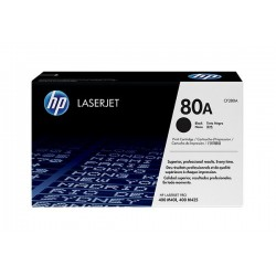 HP 80A CF280A Black Original Toner Cartridge