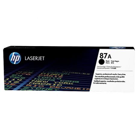 HP 87A Black Original LaserJet Toner Cartridge