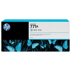 HP 771A Light Cyan Original Ink Cartridge (B6Y20A)
