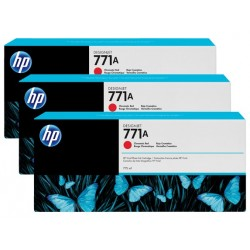 HP 771A 3-pack 775-ml Chromatic Red