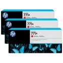 HP 771A Chromatic Red Combo-Pack Original Ink Cartridge (B6Y40A)