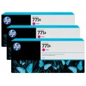 HP 771A Magenta Combo-Pack Original Ink Cartridge (B6Y41A)