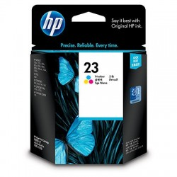 HP 23 Tri-Color Original Ink Cartridge (C1823D)