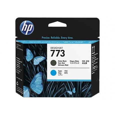 HP 773 Matte Black Cyan