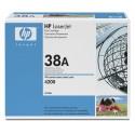 HP Q1338A Toner - HP 38A Black Original  Toner Cartridge - Q 1338A