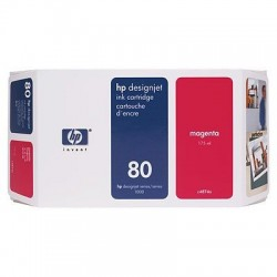 HP 80 Magenta Original Ink Cartridge (C4874A)
