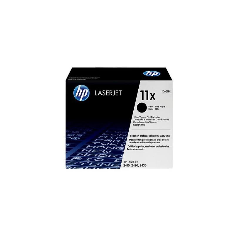 New Black Q6511X Genuine HP 11X Print Cartridge For HP LaserJet 2410