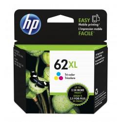 HP 62XL High Yield Tri-Color Original Ink Cartridge (C2P07AN)