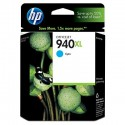 HP 940XL Cyan Original Ink Cartridge (C4907AN)