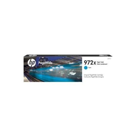HP 972X (L0R98AN) High Yield Cyan Original PageWide Cartridge