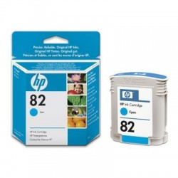 HP 82 Cyan Original Ink Cartridge (C4911A)