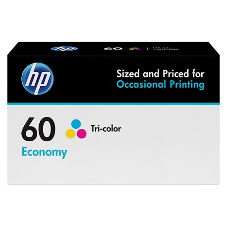 60 ECONOMY TRI-COLOUR INK CARTRIDGE