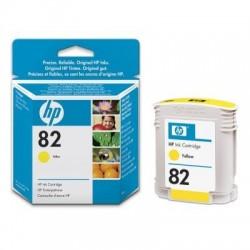 HP 82 Yellow Original Ink Cartridge (C4913A)