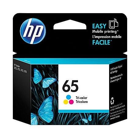 HP 65 TRI-COLOUR INK