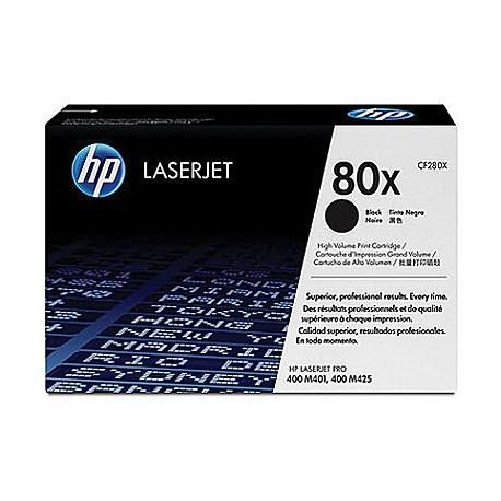 HP 80X (CF280X) Black High Yield Original LaserJet Toner Cartridge