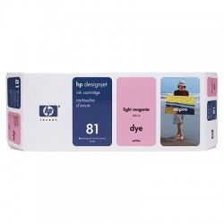 HP 81 Light Magenta Original Ink Cartridge (C4935A)