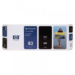 HP 83 Black Original Ink Cartridge (C4940A)