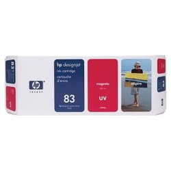 HP 83 Magenta Original Ink Cartridge (C4942A)