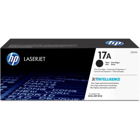 HP 17A Black Original LaserJet Toner Cartridge