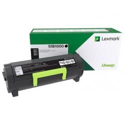 Lexmark 51B1000 Laser toner Black laser toner & cartridge