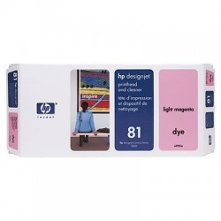 HP 81 Light Magenta Printhead and Printhead Cleaner (C4955A)
