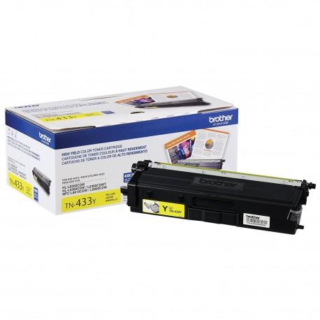 Brother TN-433Y toner cartridge Original Yellow 1 pc(s)