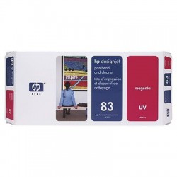 HP 83 Magenta Printhead and Printhead Cleaner (C4962A)
