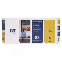 HP 83 Yellow UV Printhead and Printhead Cleaner (C4963A)