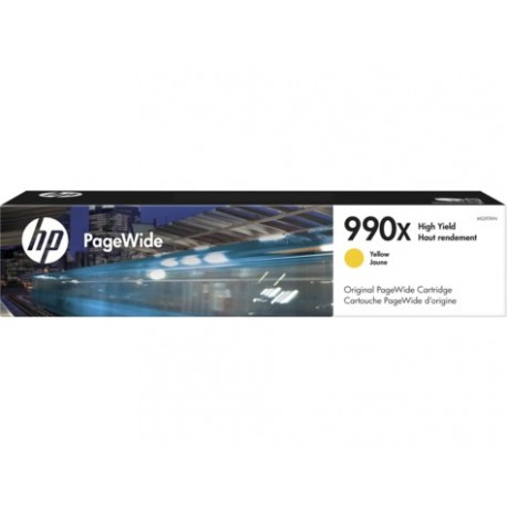 HP 990X Yellow PW High Yield Cartridge M0J97AN