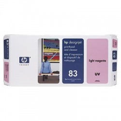 HP 83 Light Magenta UV Printhead and Printhead Cleaner (C4965A)