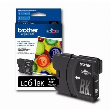 Brother LC61BK Original Black