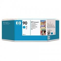 HP 90 Cyan High Yield Original Ink Cartridge (C5061A)