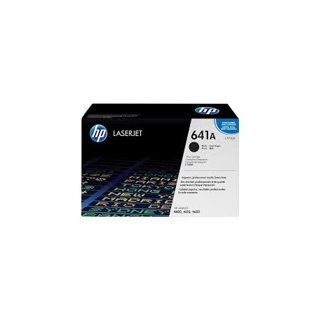 HP 641A Black Original Toner Cartridge ( C9720A )