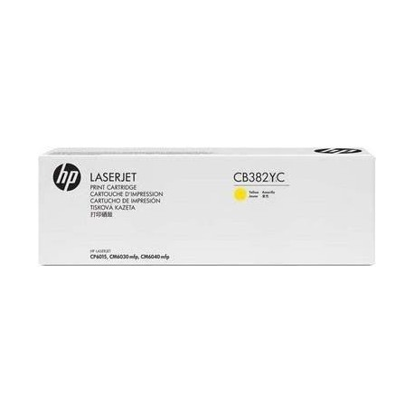 HP 824A CB382YC MPS Discount Eligible Super High Yield Yellow