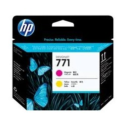 HP 771 Magenta/Yellow Designjet Printhead (CE018A)
