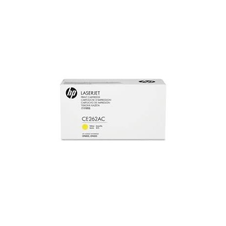 HP CE262AC MPS Discount Eligible Yellow Original Toner Cartridge