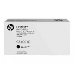 HP 507A CE400YC MPS Discount Eligible Super High Yield Black Original Toner Cartridge