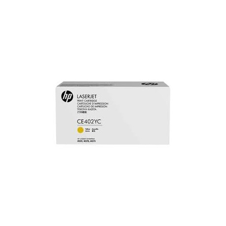 HP CE402YC MPS Discount Eligible Super High Yield Yellow Original Toner Cartridge