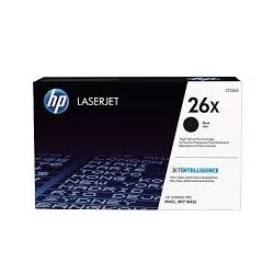 HP 26X High Yield Black Original LaserJet Toner Cartridge CF226X