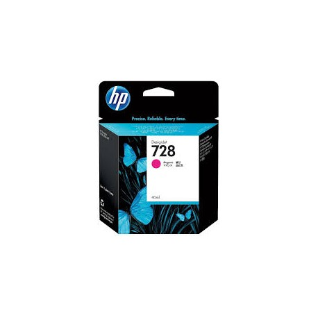 HP 728 Magenta  Original Ink Cartridge (F9J62A)