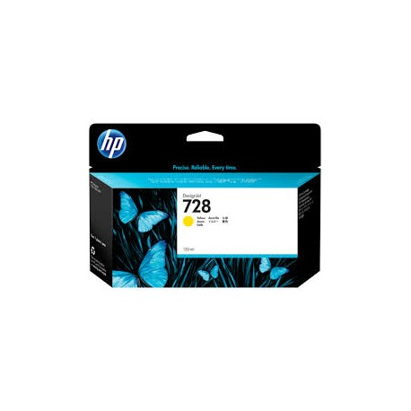 HP 728 Yellow Original Ink Cartridge (F9J65A)