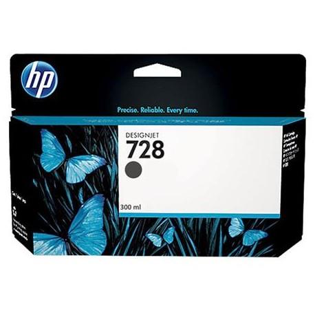 HP 728 Matte Black  Original Ink Cartridge (F9J68A)