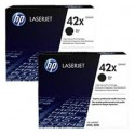 HP Q5942XD Double Pack High Yield Original Toner Cartridge
