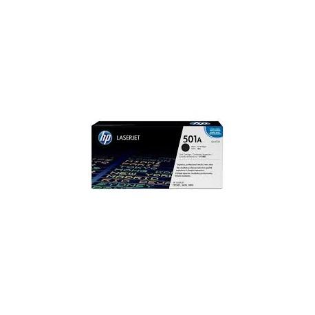 HP 501A Q6470A Black Original Toner Cartridge
